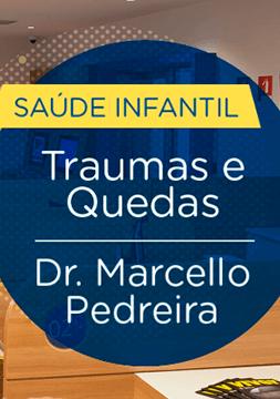 Nosso pediatra Dr Marcello Pedreira orienta sobre quedas infantis, comuns nas férias